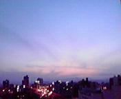 夕景…盛岡 5月<br />  22日19時20<br />  分