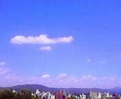 ふんわり雲… 6月25<br />  日13時45<br />  分