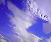 雲のかたち…盛岡 <br />  7月24日15<br />  時12分