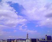 空と雲…盛岡 7月<br />  27日午後12<br />  時22分