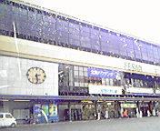 雨…盛岡駅 7月<br />  29日14時28<br />  分
