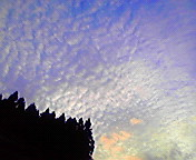 夕空…紫波 8月<br />  13日18時05<br />  分