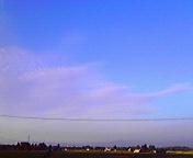 夕雲…紫波 8月<br />  21日17時38<br />  分