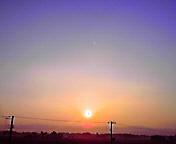 朝日…紫波 8月<br />  23日午前5<br />  時26分