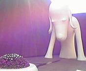 あおもり犬…青森県立美術館 9<br />  月1日13<br />  時31分