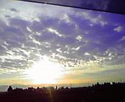 朝日…紫波9月3<br />  0日午前6時<br />  20分