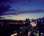 夕景…盛岡 10<br />  月05日17<br />  時43分