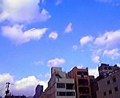 空…盛岡・亀楽町通(<br />  きらくちょうどおり)11<br />  月10日14<br />  時36分