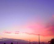 朝焼け…紫波 11<br />  月18日午前<br />  6時21分