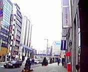 銀座から京橋方向… 11月26<br />  日10時41<br />  分