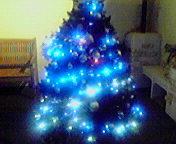 クリスマスツリー…盛岡菜園 12月02<br />  日17時48<br />  分