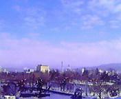 空と雲…盛岡1月4日午前11<br />  時09分