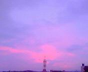 朝焼け2…盛岡 <br />  1月5日午前<br />  6時50分