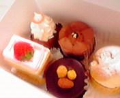 お土産…ラ・シェールのケーキ 1<br />  月21日