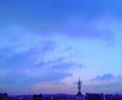 夕空…盛岡 2月<br />  3日16時56<br />  分