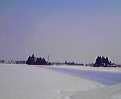 雪景色…紫波 2月<br />  5日14時09<br />  分