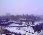 再び雪…盛岡 2月<br />  9日14時26<br />  分