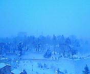 雪…盛岡 2月<br />  10日午前6<br />  時43分