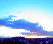 朝空…盛岡 3月<br />  4日午前6時<br />  16分