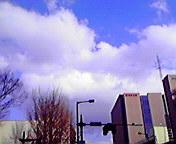 盛岡中央通から… 3月5<br />  日14時56<br />  分