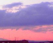 夕空…盛岡 6月<br />  15日19時05<br />  分