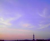 夕景…盛岡 6月<br />  16日18時58<br />  分