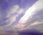 雲…盛岡 7月<br />  9日午前6時<br />  58分