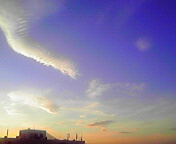 夕景…盛岡 7月<br />  16日18時42<br />  分