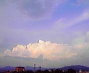雲…盛岡 8月<br />  8日17時31<br />  分
