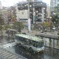雨 … 盛岡駅前バスターミナル9時26分