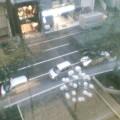 雨 … 盛岡・菜園 16時20分