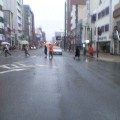 雨 … 盛岡中央通り 14時10分