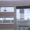 ビルの窓…中央通り16日13時45分