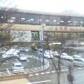 雨の盛岡駅 … 17時08分